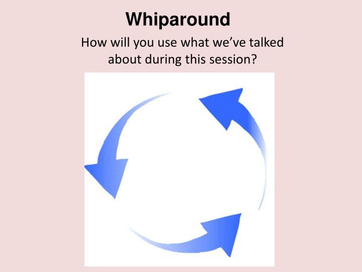 Whiparound
