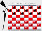 a screen shot of our checkers