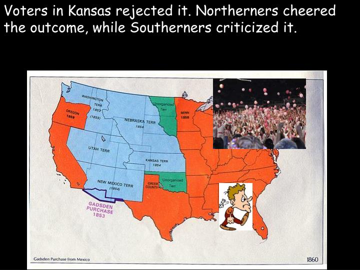 Voters in Kansas rejected