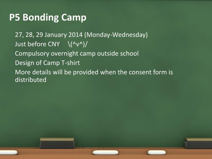 P5 Bonding Camp
