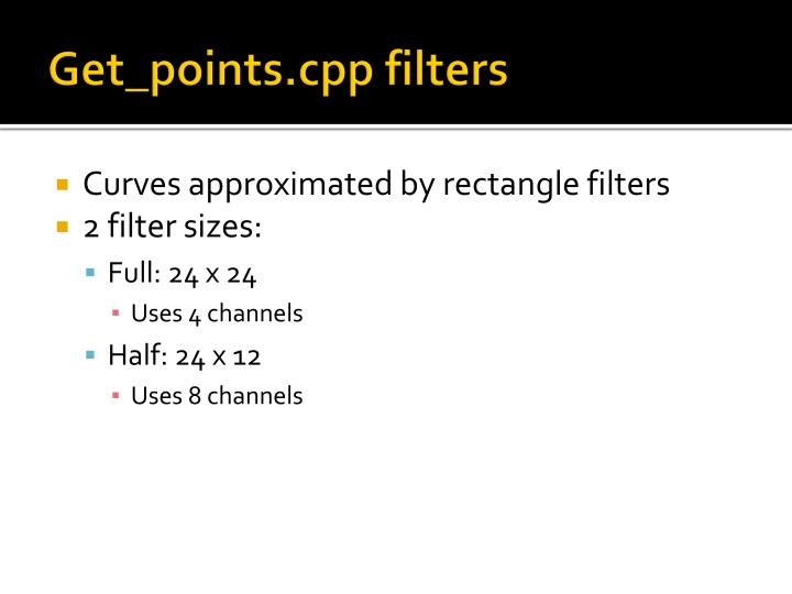 Get_points.cpp filters