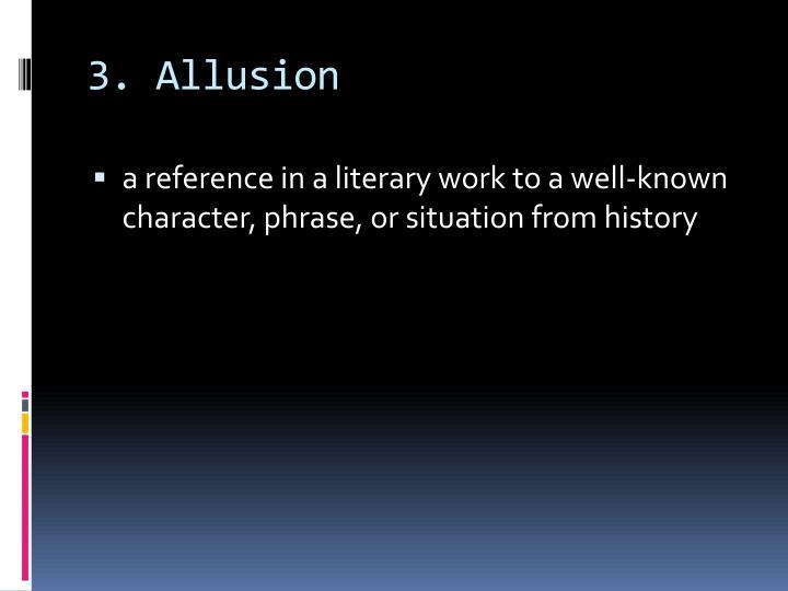 3. Allusion