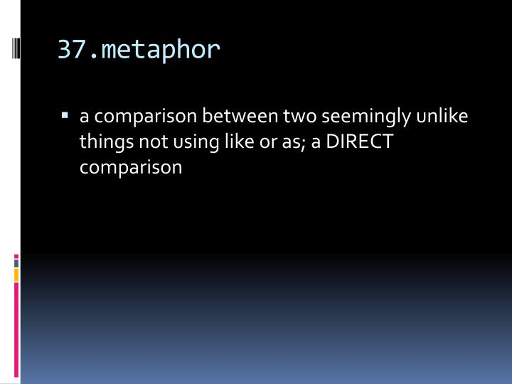 37.metaphor