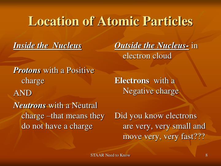 Inside the  Nucleus