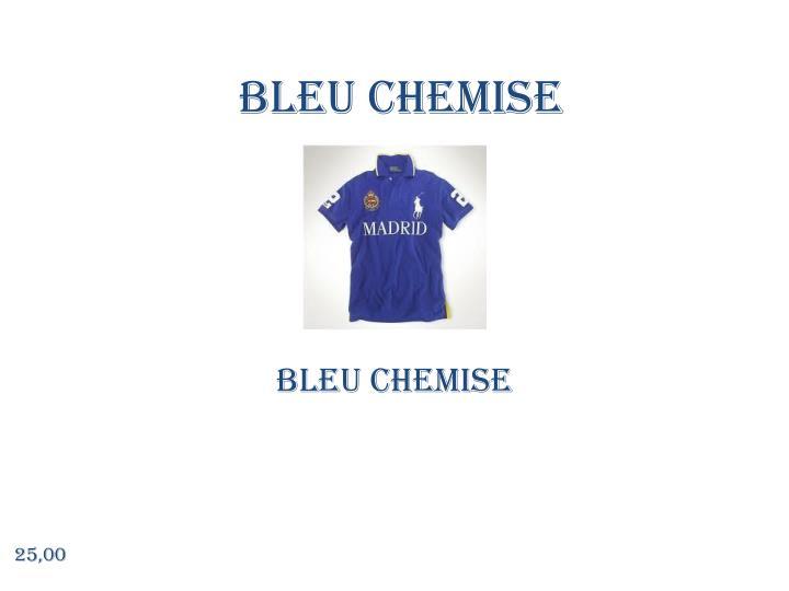 Bleu chemise