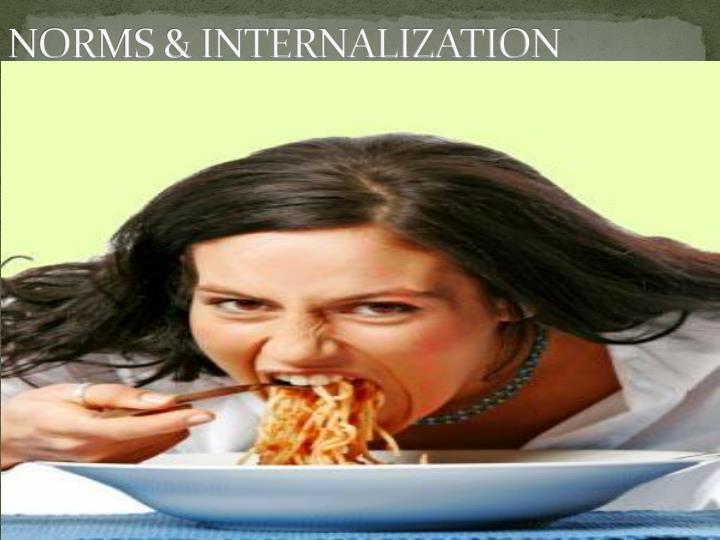 Norms internalization