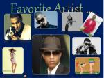 favorite artist