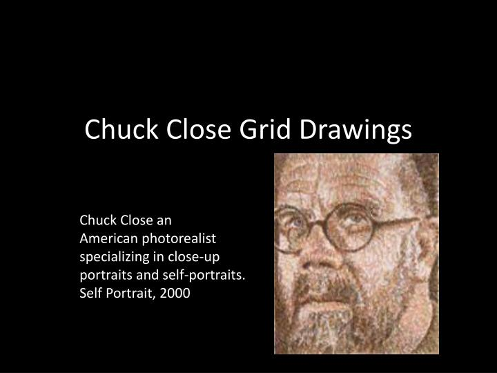a biography and life work of chuck close an american photorealist