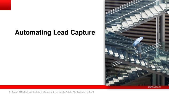 Automating Lead Capture