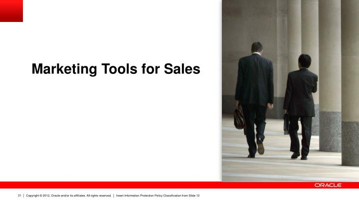 Marketing Tools for Sales
