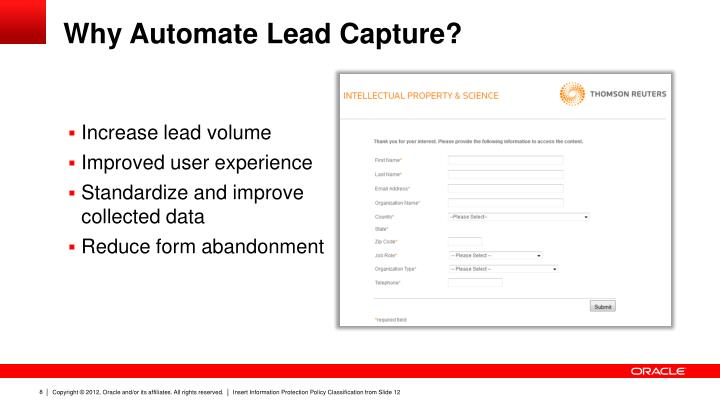 Why Automate Lead Capture?