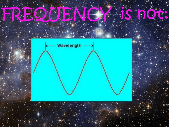 FREQUENCY  is not: