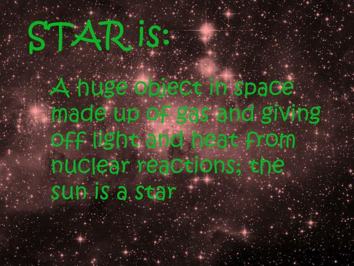 STAR is: