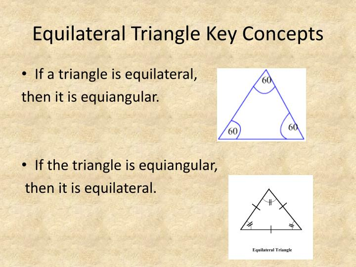 Equilateral Triangle Key Concepts