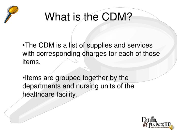 What is the cdm