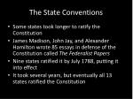 the state conventions