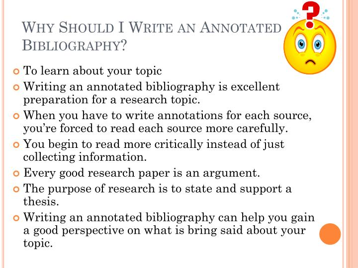 good research topics for annotated bibliography Before writing a paper on such a topic, consider buying a sample research paper from us that would include in depth research and a strong argument we have talented.