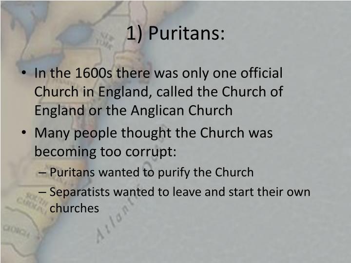 1 puritans