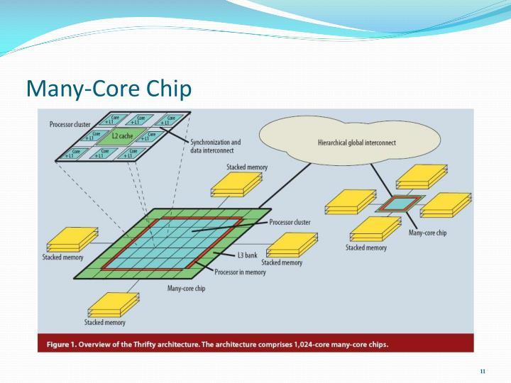 Many-Core Chip