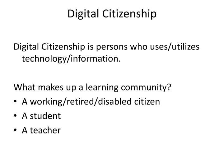 Digital citizenship1