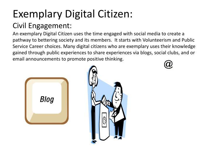 Exemplary Digital Citizen: