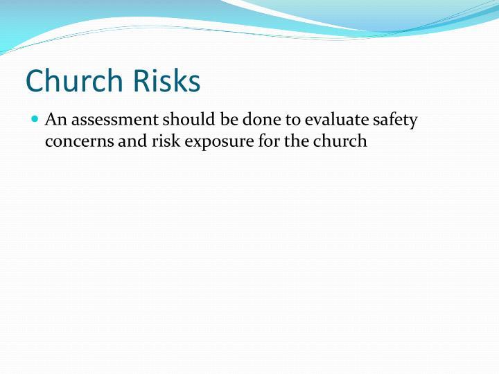 Church Risks