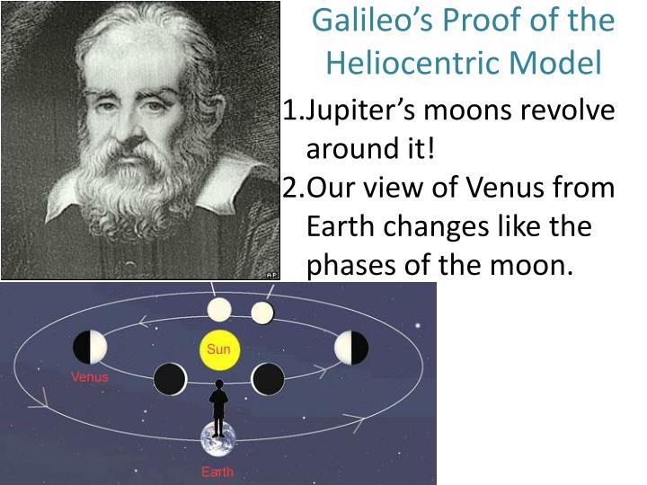 Galileo's Proof of the