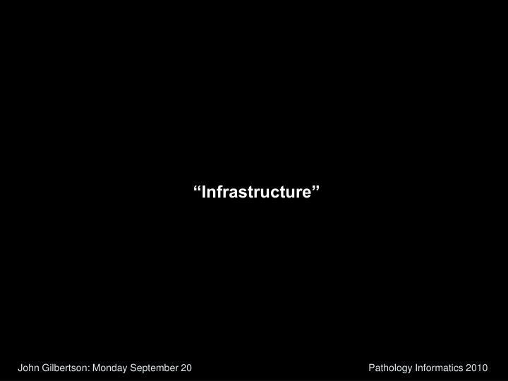 """Infrastructure"""