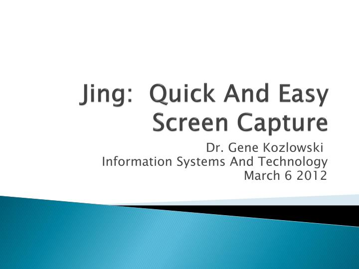 jing quick and easy screen capture n.