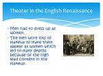 theater in the english renaissance1