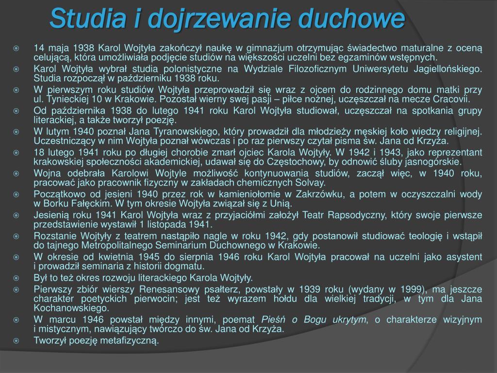 Ppt Jan Paweł Ii Orędownik Rodzin Powerpoint