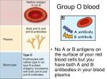 group o blood