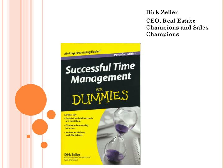 Dirk zeller ceo real estate champions and sales champions