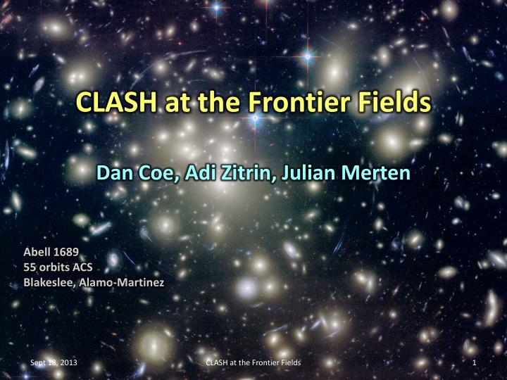clash at the frontier fields n.