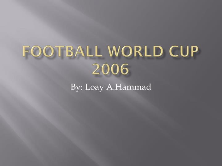 football world cup 2006 n.