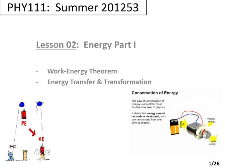 Phy111 summer 201253