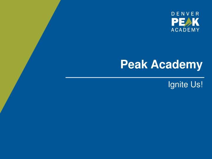 Peak Academy