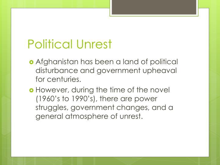 Political Unrest