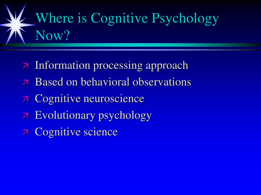 PPT - Introduction to Cognitive Psychology PowerPoint