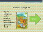 arthur s reading race