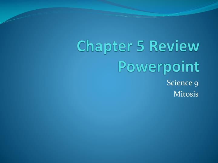 chapter 5 review powerpoint n.