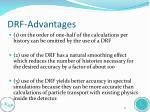 drf advantages