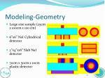 modeling geometry5