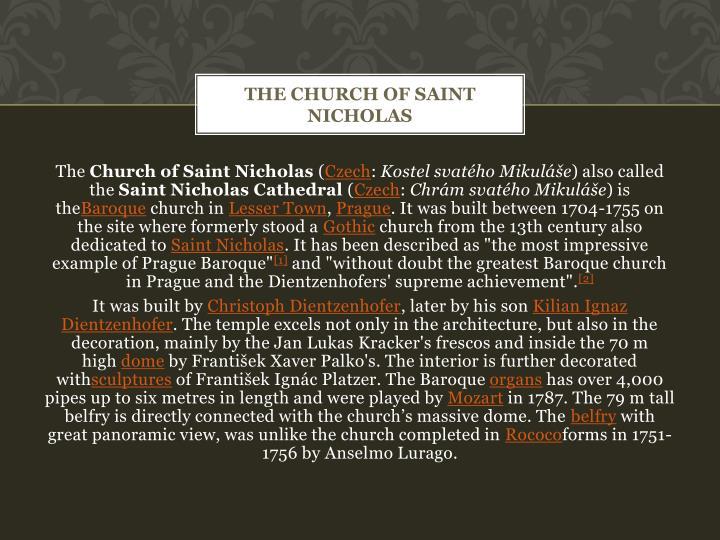 TheChurch of Saint Nicholas