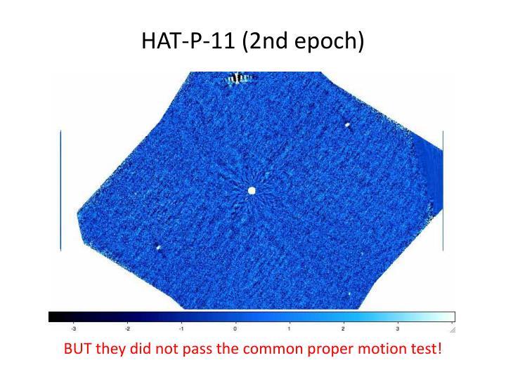 HAT-P-11 (2nd epoch)