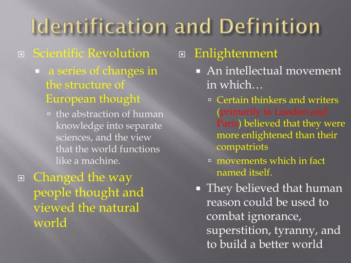 a look at the scientific revolution and the age of enlightenment