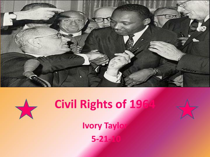 civil rights of 1964 n.
