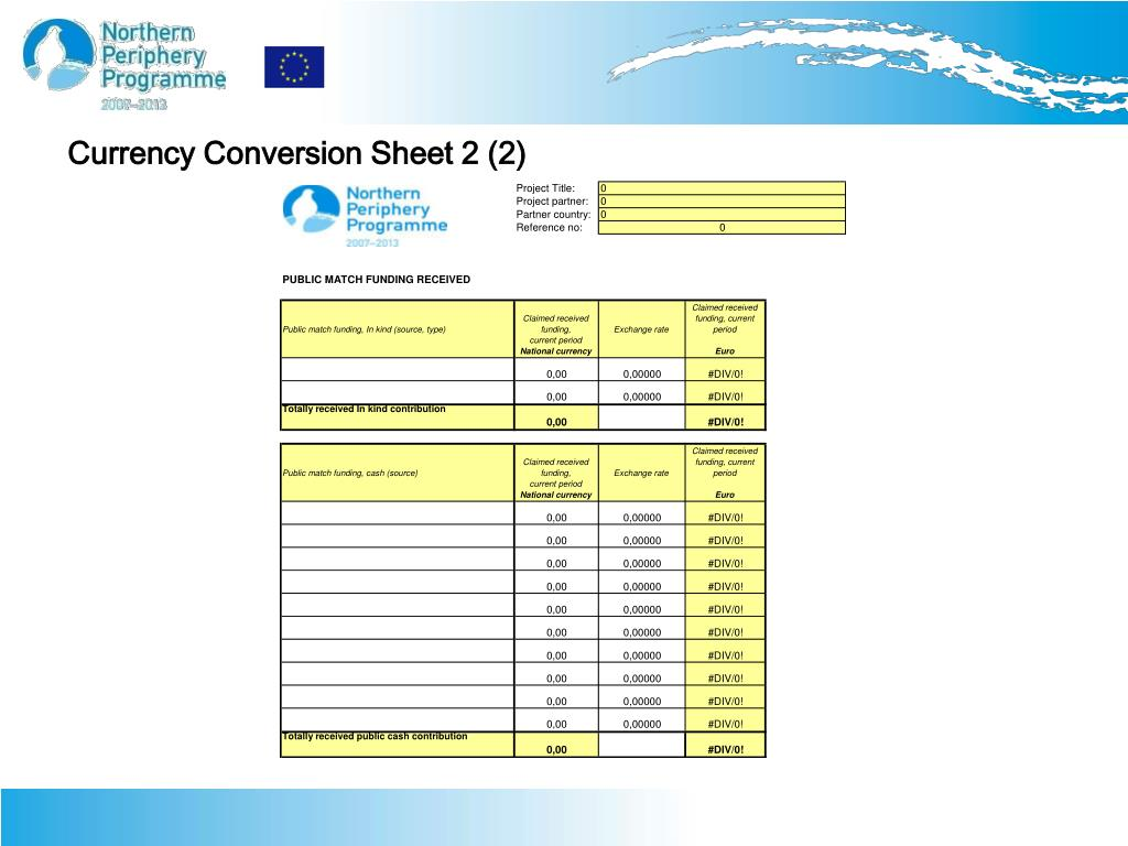 PPT - Northern Periphery Programme 2007-2013 How to Close a Preparatory Project PowerPoint ...