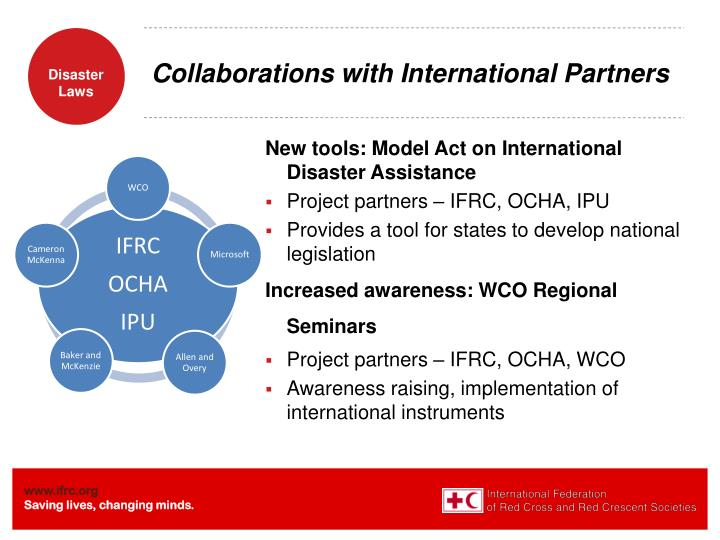 Collaborations with International Partners