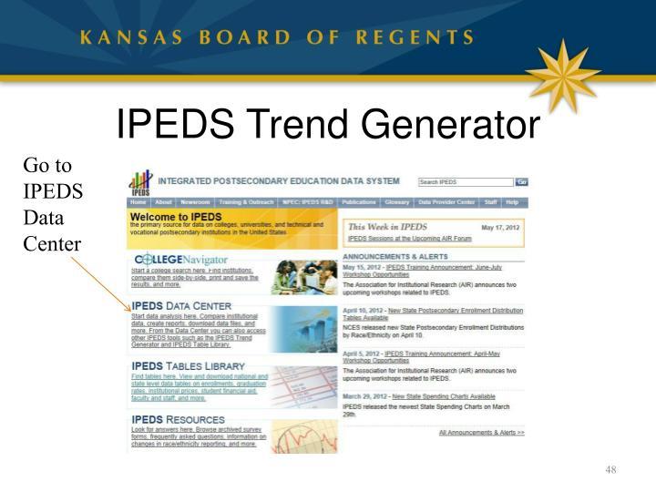IPEDS Trend Generator